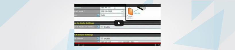 Video configuracion drop-in Peplink