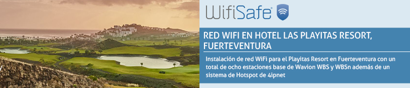 Red WiFi en Hotel Las Playitas Resort, Fuerteventura