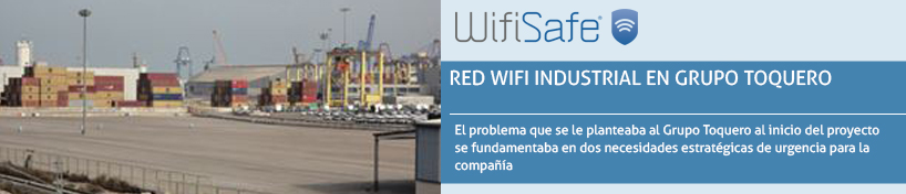 Red WiFi Industrial en Grupo Toquero