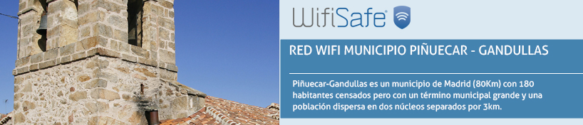 Red WiFi Municipio Piñuecar - Gandullas
