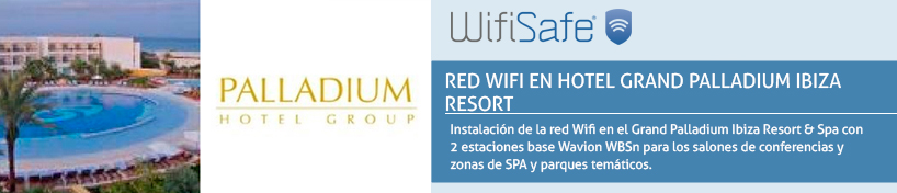 Red WiFi en Hotel Grand Palladium Ibiza Resort