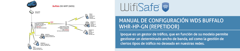 Manual de configuración WDS Buffalo WHR-HP-GN (Repetidor)