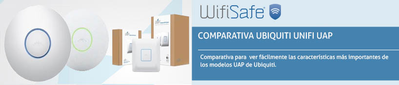 Comparativa Ubiquiti Unifi UAP