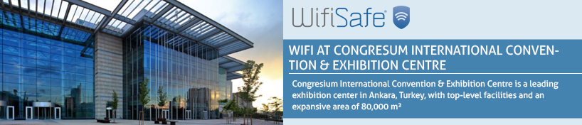 WiFi at Congresum International Convention & Exhibition Centre