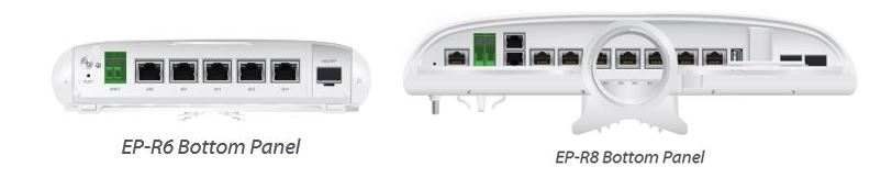 Comparativa Router EdgePoint R6-Router EdgePoint R8