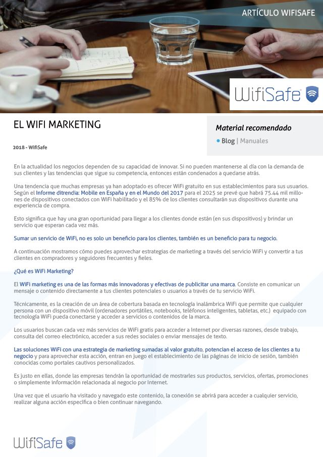 El WiFi Marketing